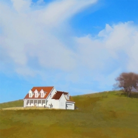 house on hill feature