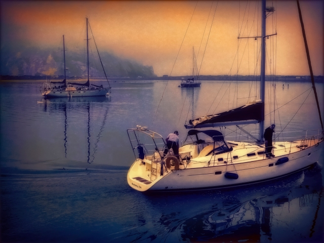 Morro Bay Dawn - D. Moorezart, copyright 2015 - http://fineartamerica.com/featured/morro-bay-dawn-douglas-moorezart.html