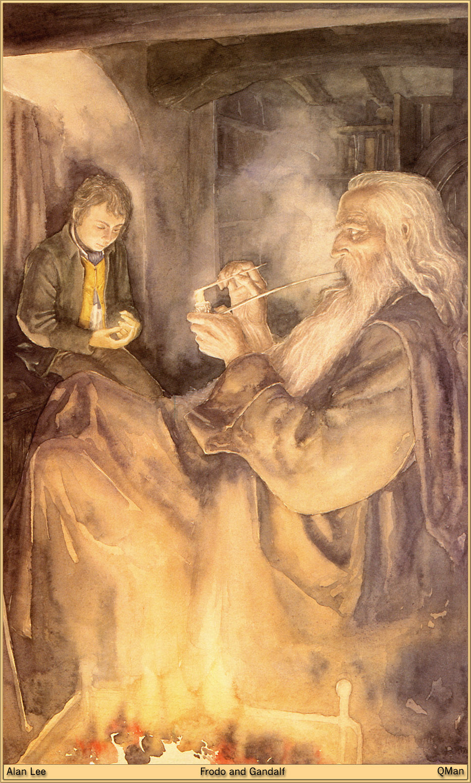 """""""l wish it need not have happened in my time,"""" said Frodo.  """"So do I,"""" said Gandalf, """"and so do all who live to see such times. But…"""""""